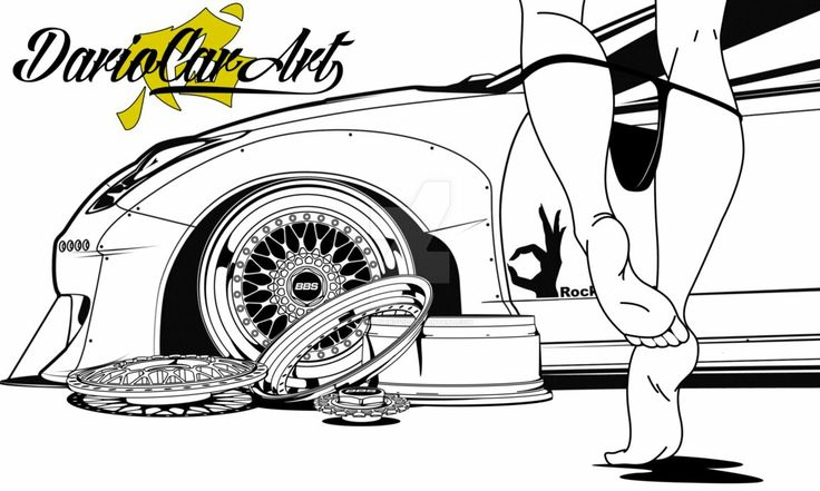 Wheel Porn Series illustrations by Dario Car Art  BBS RS 001 Split Chrome  Vector for sale  Paypal  Open for commissions  You do not have permission to use my work witouth my written permission.  #bbs #rs #wheelporn #pantydrop #split #rims #dariocarart #pandem #rocketbunny #celica #feet #thong #sexy #carthrottle