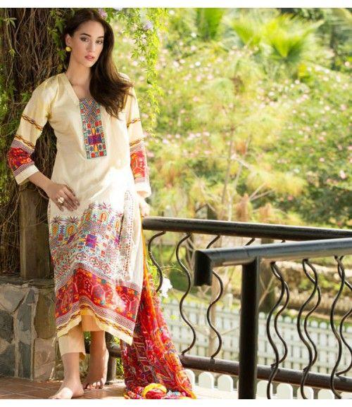 Ayesha Zara Embroidered Lawn Collection AZ_06A