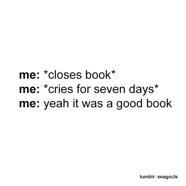 Yeah it was a good book!<<< for me it is longer than 7 days- something like the whole life?!