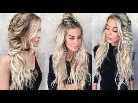 This quick easy hairstyles truly are trendy #quickeasyhairstyles #easyhairstyles…