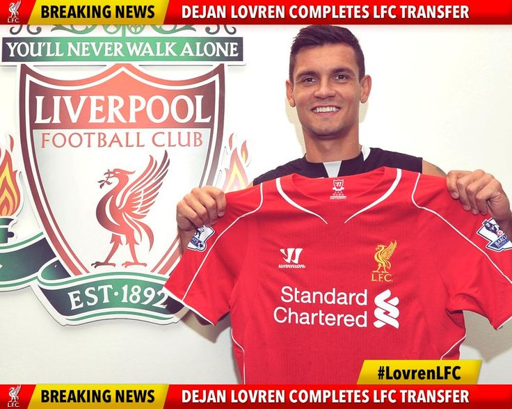 Dejan Lovren has completed his medical & is now an #LFC player! Welcome to Anfield.