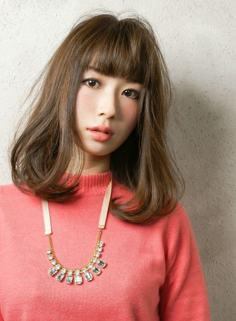 大人可愛い!ナチュラルヘアスタイル 【Latte】 http://beautynavi.woman.excite.co.jp/salon/22003?pint ≪ #mediumhair #mediumstyle #mediumhairstyle #hairstyle・ミディアム・ヘアスタイル・髪形・髪型≫