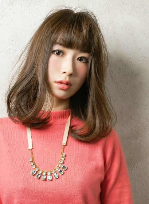 大人可愛い!ナチュラルヘアスタイル 【Latte】 http://beautynavi.woman.excite.co.jp/salon/22003?pint ≪ #mediumhair #mediumstyle #mediumhairstyle #hairstyle・ミディアム・ヘアスタイル・髪形・髪型≫
