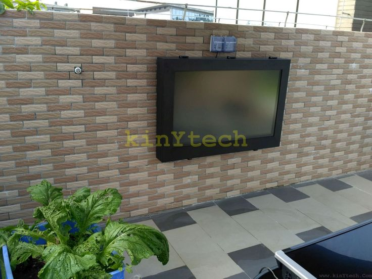 weatherproof TV enclosure From Kinytech China. weatherproof TV enclosure,outdoor screen enclosure