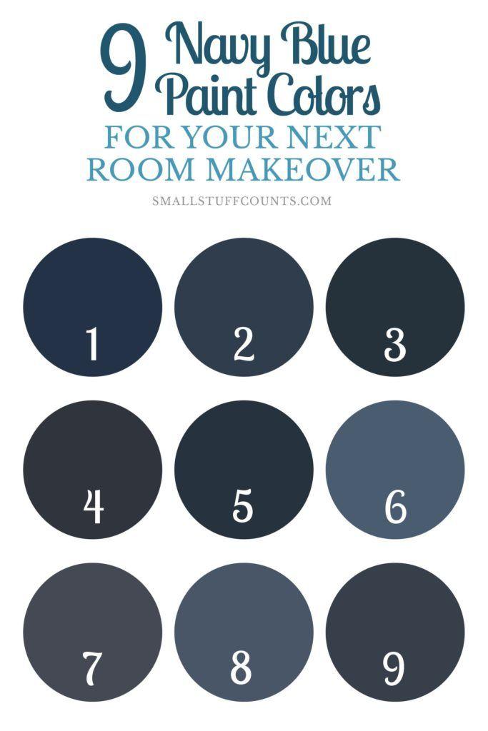 De 25 bedste idéer inden for Navy paint colors på