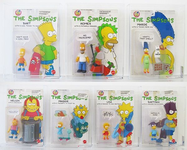 the simpsons toys | ... was one of the first sets of simpsons toys to be released they can