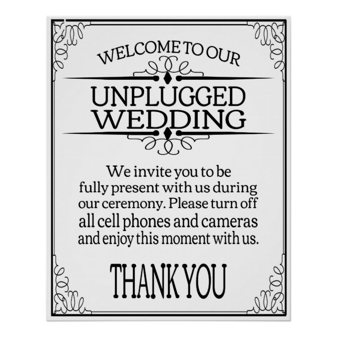 Contemporary Wedding Sign Templates Ensign - Examples Professional ...
