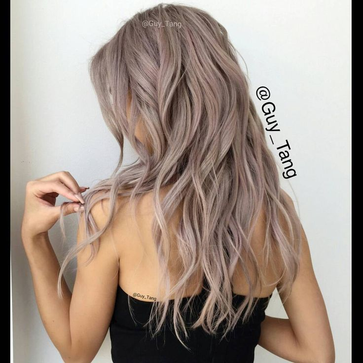 47 Best Silver Hair Color Images On Pinterest Colourful Hair