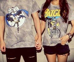 Yes. Yes yes. My future husband better be ok with wearing matching Batman shirts. ;)