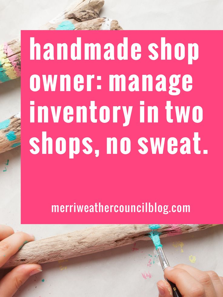 Worried about managing inventory between your two shops? Read this!