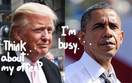 Shocking Revelation: Trump Raised Offer to $50 Million for Obama's College Records and Still Received No Reply - 5/29/14