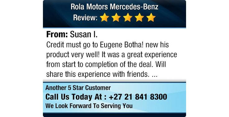 Credit must go to Eugene Botha! new his product very well! It was a great experience from...