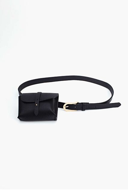 30 Perfect Bags That Make Life MUCH Easier #refinery29  http://www.refinery29.com/cute-backpack-fanny-pack-bags#slide16  The Fanny Pack