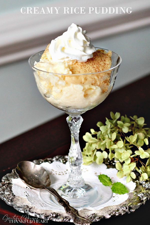 A Yummy Baked Rice Pudding Recipe Serve Hot Or Cold With Jam Or