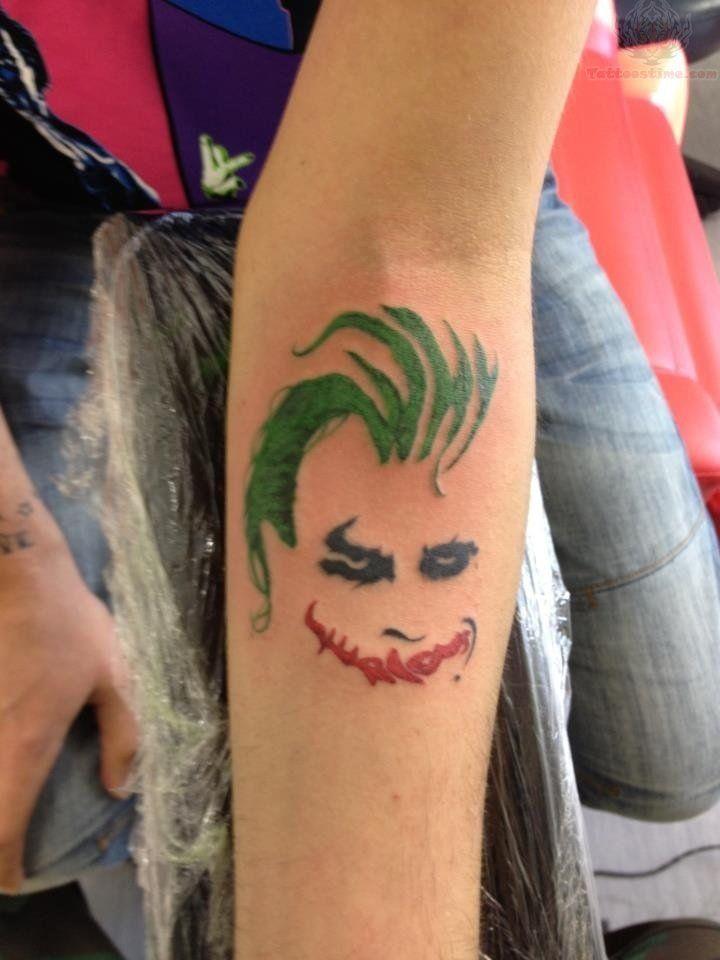 Best joker tattoo designs jokers joker tattoos and the for The joker tattoo