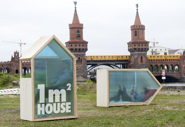 L'architecte et designer Van Bo Le-Mentzel, a imaginé cette «maison» de 1 m²