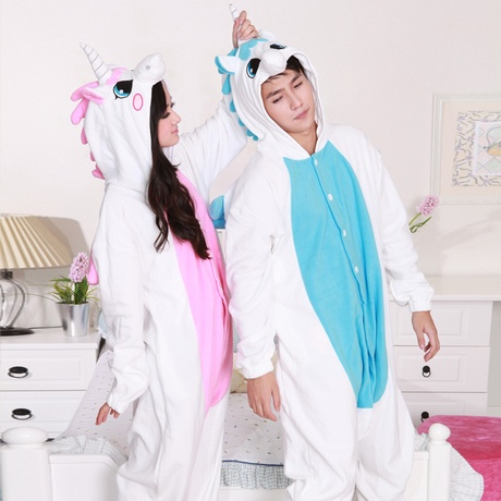 Optional Unicorn Onesie UNICORN PINK BLUE Adult Animal Romperpajamas Pyjamas Costume