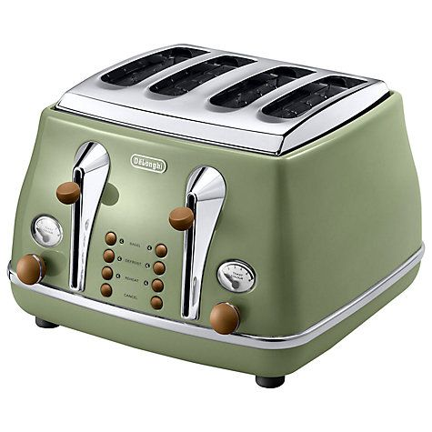 Really want!! £65 Buy De'Longhi Vintage Icona 4-Slice Toaster Online at johnlewis.com