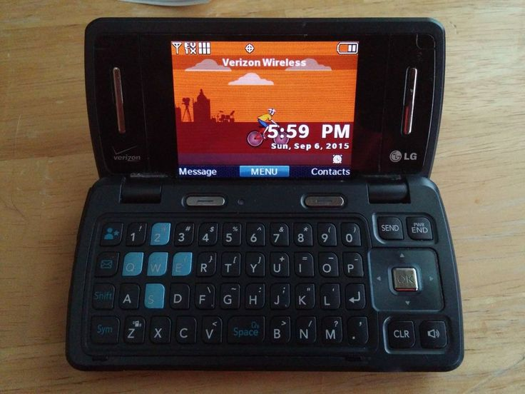 It has a 3MP camera and flips open to a QWERTY keyboard and larger display. It is originally made for Verizon, but is now not under contract.