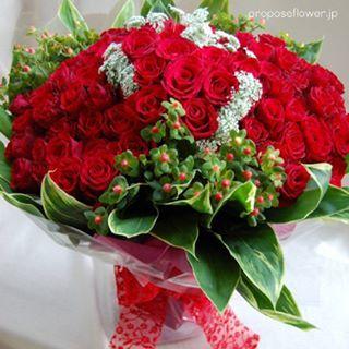 #プロポーズフラワー #propose#プロポーズ花束#赤い薔薇100本 #花屋 #フラワーショップ#プロポーズ