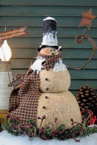238 best Prim Snowman Patterns images on Pinterest ...
