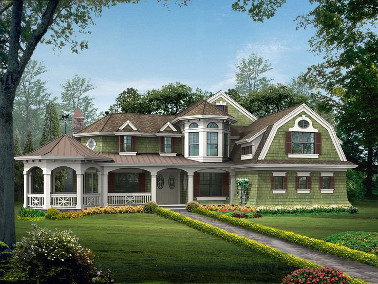 785 Best Storybook House Plan Images On Pinterest Dream