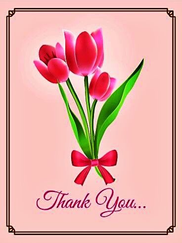 24 best thank you images on pinterest thanks appreciation cards send free pink tulip thank you card to loved ones on birthday greeting cards by davia its free and you also can use your own customized birthday m4hsunfo