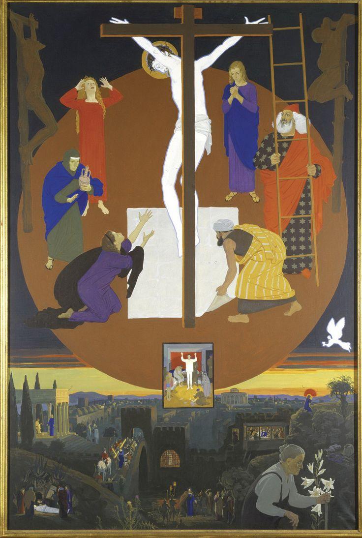 Дмитрий  Жилинский,  С  нами  Бог. Три мастера в галерее РОСИЗО.   Дмитрий Дмитриевич Жилинский (1927 — 2015)