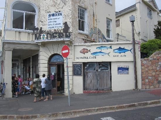 Olympia Cafe, Kalk Bay, Western Cape.... best breakfasts and amazing brownies...