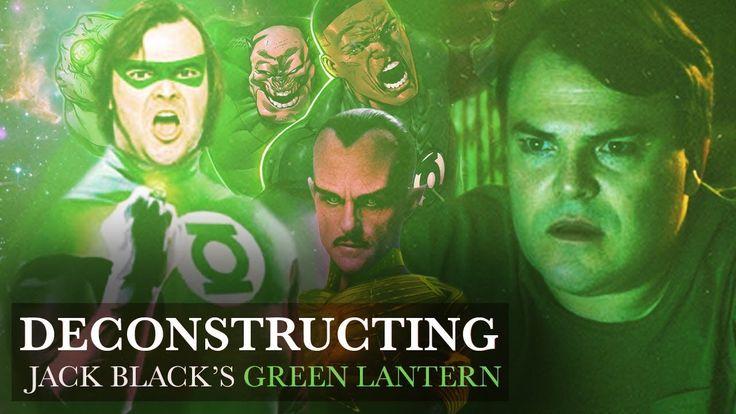 Jack Black Nearly Cast as Green Lantern