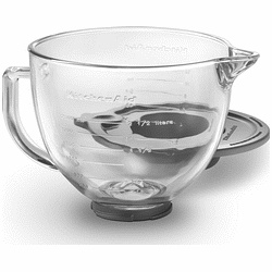 KitchenAid glass bowl with lid...got mine free from Macy's rebate offer