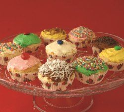 Free Recipes | Symply Too Good to be True - Symply Too Good. Deliciously low fat Frosted Cupcakes