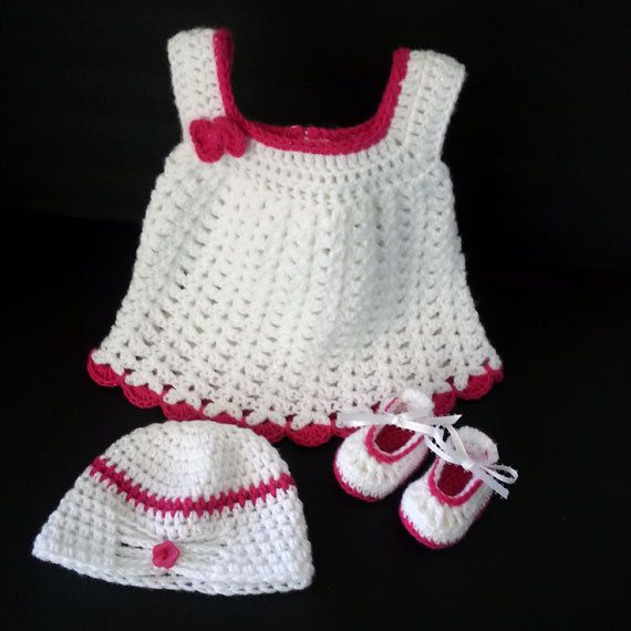Baby Girl Dress Mary Jane Shoes Butterfly Baby by LilCuddles