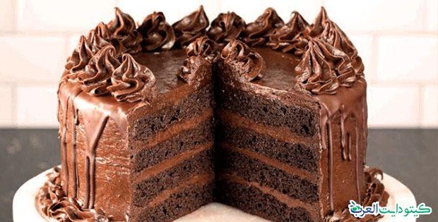 وصفات حلويات كيتو دايت سهلة الإعداد وغير مكلفة Keto Chocolate Cake Keto Dessert Cake