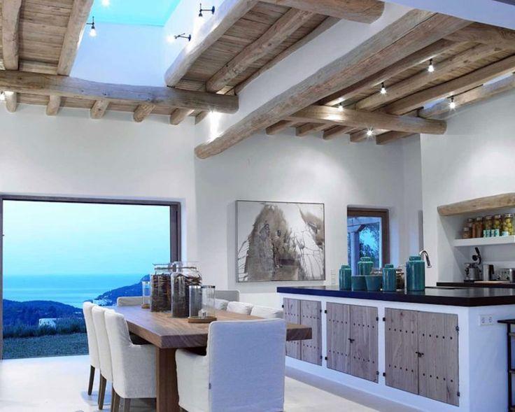 Noches en ibiza 9 cuartos de ba os peque os pinterest for Cocinas y banos pequenos