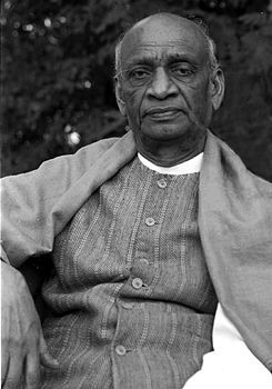India's Iron Man: Sardar Vallabhbhai  Patel (1875 -1950)  the Indian barrister and statesman, one of the leaders of the Indian National Congress and one of the founding fathers of India. As a social leader he played an unparalleled role in the country's struggle for independence and guided its integration into a united, independent nation.