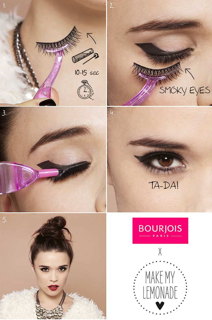 Amazing look with Bourjois false lashes #BourjoisFrenchChic