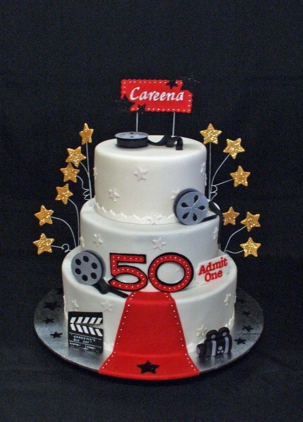 Best Movie Cakes Cookies  Cupcakes Images On Pinterest Movie - Movie themed birthday cake