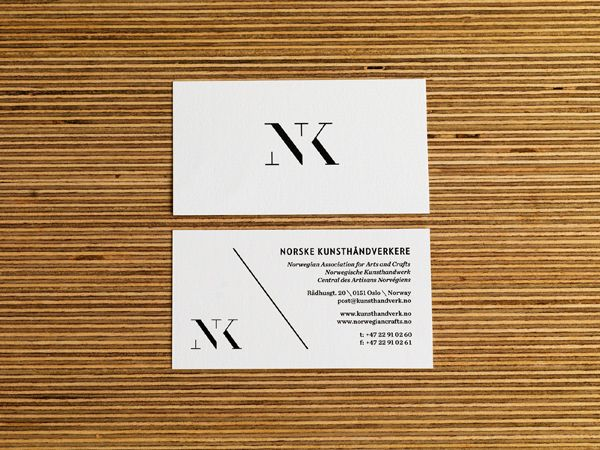 logo / NK, The Norwegian Association for Arts and Crafts