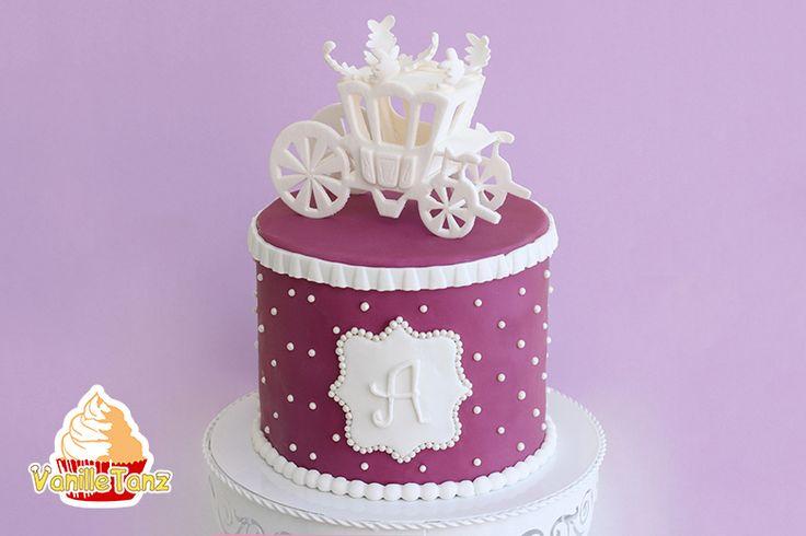 VanilleTanz: Prinzessin Torte in Lila und Weiß