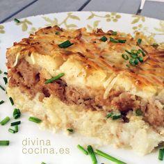 Pastel de puré de patatas » Divina CocinaRecetas fáciles, cocina andaluza y del mundo. » Divina Cocina