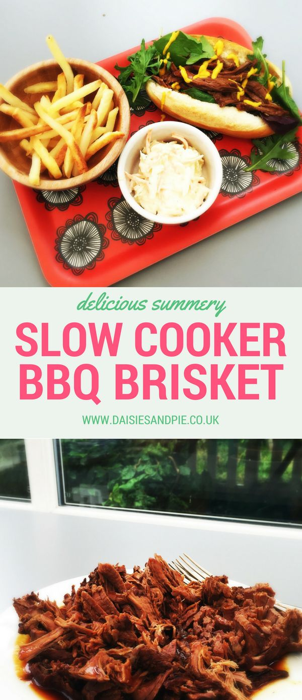 Summer Slow Cooker Recipe, 2 ingredient recipe, feed a crowd with our delicious slow cooker BBQ brisket