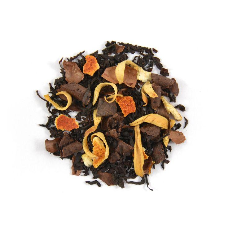 Wat krijg je als je cacao, chocolade, sinaasappel en zwarte thee combineert? Chocolatery - explosie van geur en smaak!