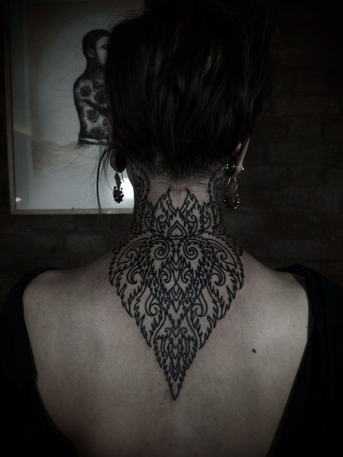 Neck Tattoos Tumblr