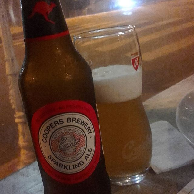 Coopers. Sparking Ale. Austrália #beer #ceva