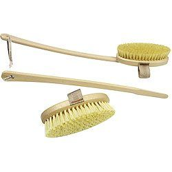 Dry brushing is a technique that involves a long handled bristle brush aided in sloughing off dead skin cells and by brushing the skin in circular and stimulating motions, you achieve many health benefits. #organic #skincare #skin #beauty #beautytips #diy #haircare #essentialoils #makeup #antiaging #beautyblogger #healthy #lifestyle