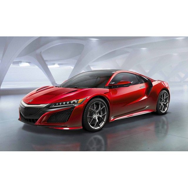 The All New Twin-turbo 550 Hp 2016 Acura NSX.