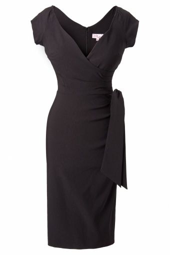 So Couture - Black Hourglass Vintage Pencil dress - I want this dress!