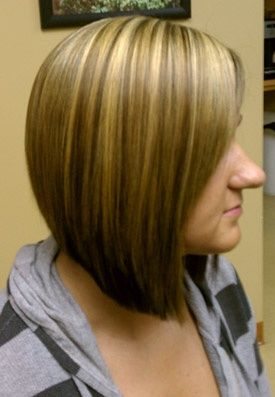 a line bob haircut love color and cut. <3 ...