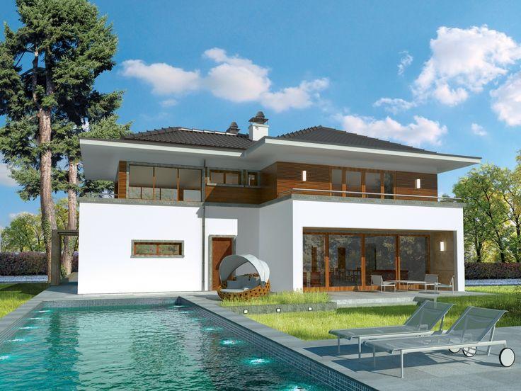 DOM.PL™ - Projekt domu AC Leonardo G2 CE - DOM AE9-29 - gotowy projekt domu